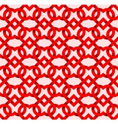 Abstract repeatable pattern background of red vector image vector image