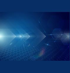 abstract technology digital hi tech concept vector image