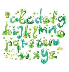 green natural ABC vector image vector image
