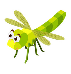 3d design for dragonfly vector