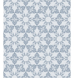 Gray lace pattern vector