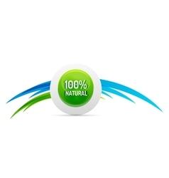 Green eco concept - natural vector