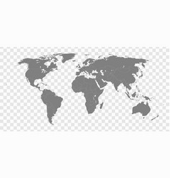 High quality world map vector