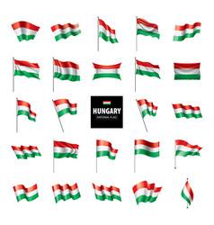 hungary flag vector image
