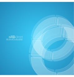 Modern abstract background with soft lines vector image