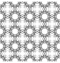 Ornamental Texture on White Background vector