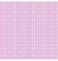 Pink damask seamless pattern backdrop vector