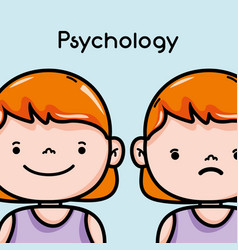Psychology analysis therapy inspiration design vector