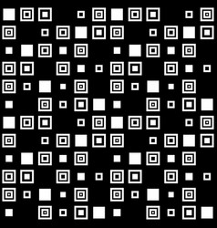 simple seamless pattern of squares vector image