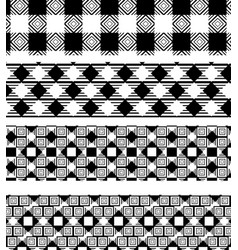 Tartan seamless pattern bundle vector