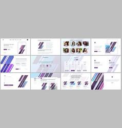 Templates for website design vector