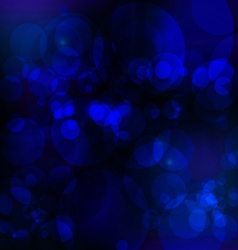 Abstract bule nigth background vector
