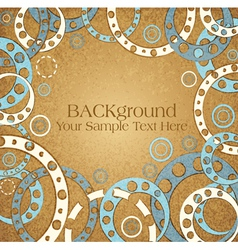 Abstract vintage background vector