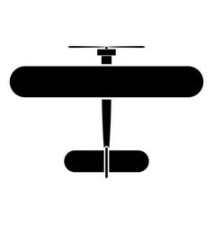 biplane vector image