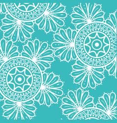 Colorful and circular mandalas pattern background vector