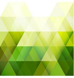 Green triangle modern geometric background vector