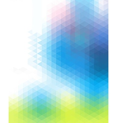 Motley colored polygonal background consist of vector image