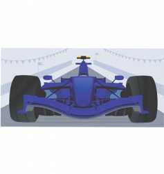 motor sports vector image