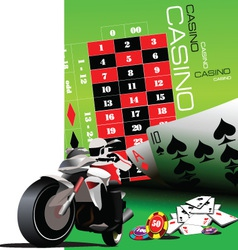 Motorbike Background vector