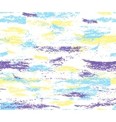 Pattern colorful brush strokes vector