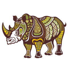 Rhinoceros vector
