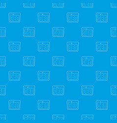 Seo pattern seamless blue vector
