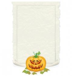 Halloween template vector