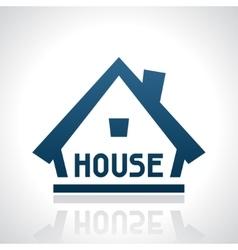 House logo template real estate design concept vector