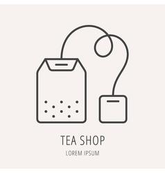 Tea One Logo 08 vector image vector image