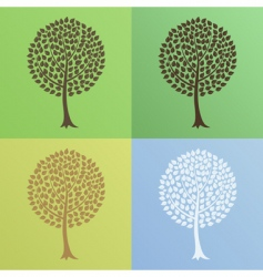 tree6 vector image