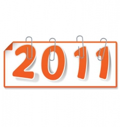 new year sign vector image vector image