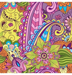 Seamless colorful pattern vector