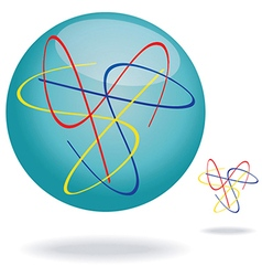Abstract swirl vector