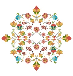 Artistic ottoman pattern series thirty two vector