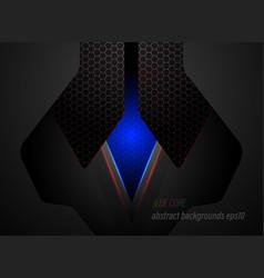 blue core tech scene vector image