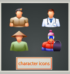 Characters 3 vector