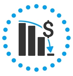 Financial Crisis Icon vector