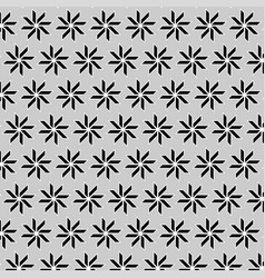 geometric pattern with gray background vector image