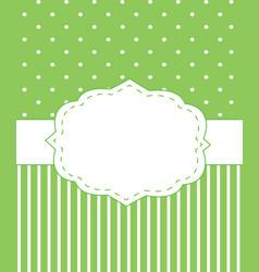 Invitation card template vector