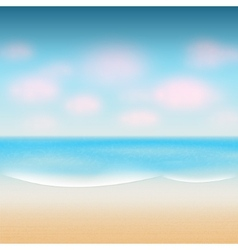 modern summer background vector image