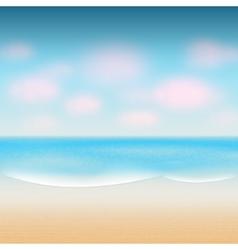 Modern summer background vector
