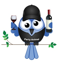 Party animal vector