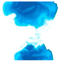 blue watercolor background vertical composition vector image