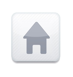 white house icon Eps10 Easy to edit vector image vector image