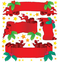 Christmas banners collection 6 vector