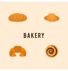 Delicous Bakery Food vector image