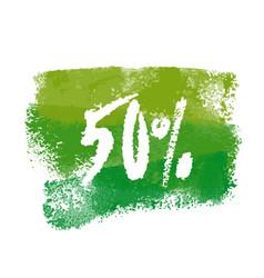 Fifty percent label vector
