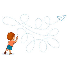 handwriting practice basic writing skills early vector image