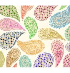 natural ornament vector image