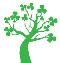 patrick tree vector image